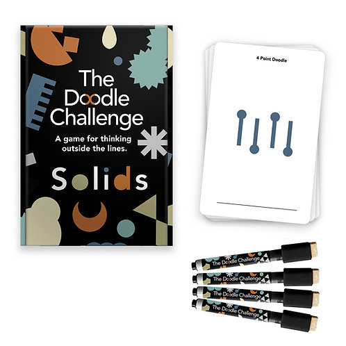 The Doodle Challenge - Solids Deck