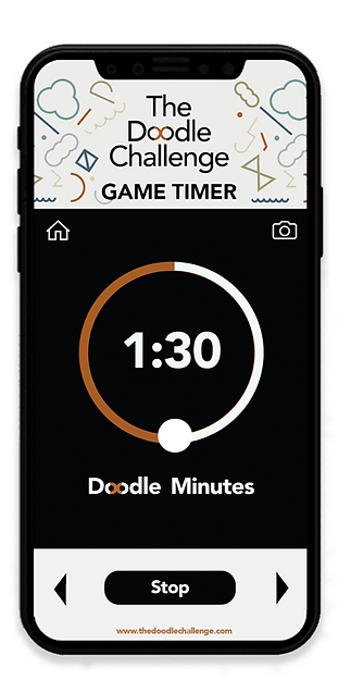 The Doodle Challenge_Timer App iOS