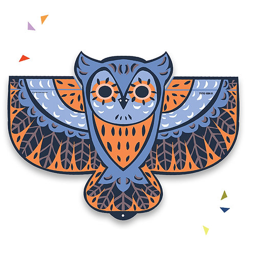 Windy Owl Kites (Multiple colors available)