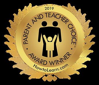 Parent and Teacher Choice Award 2019 fro