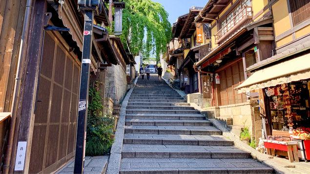【産寧坂】清水寺まであと少し!