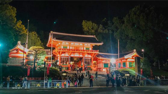 【八坂神社】年末年始・祇園祭等、行事がたくさん!