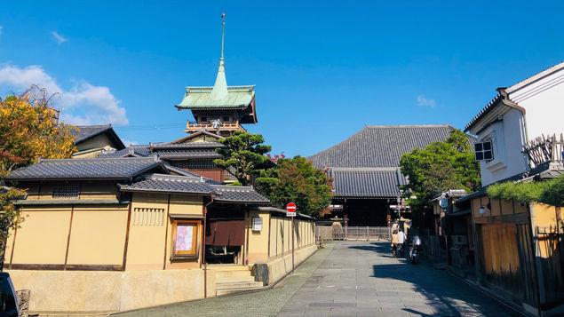 【ねねの道】太閤秀吉の妻ねねが過ごした場所。