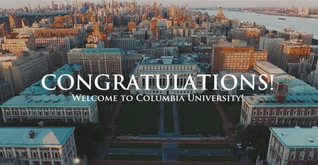 Columbia University Transfer