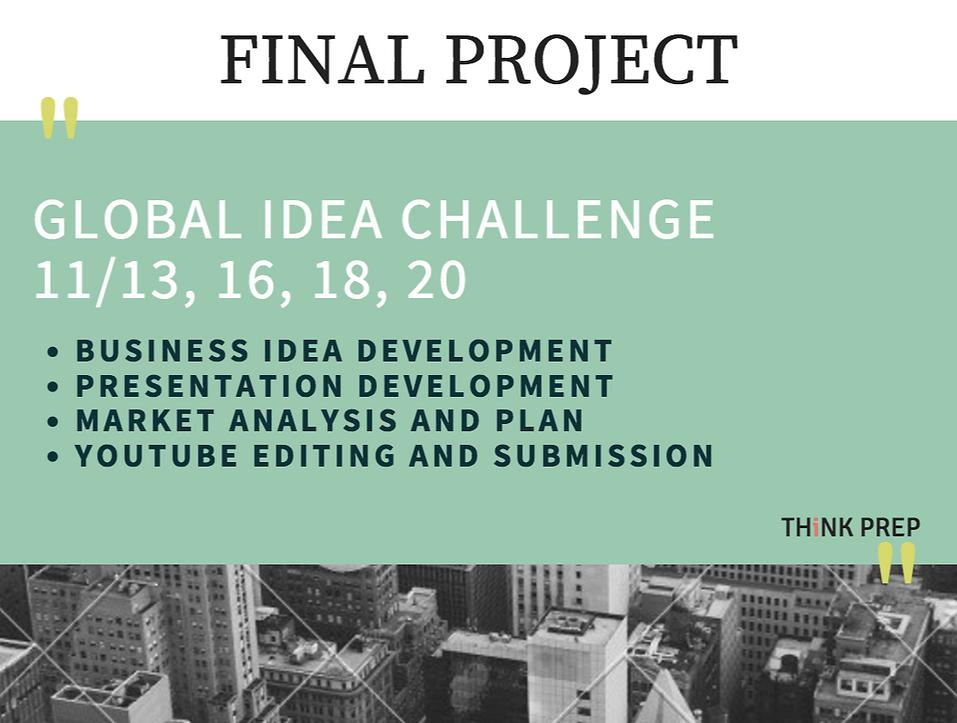 B.I.C. Final Project Info