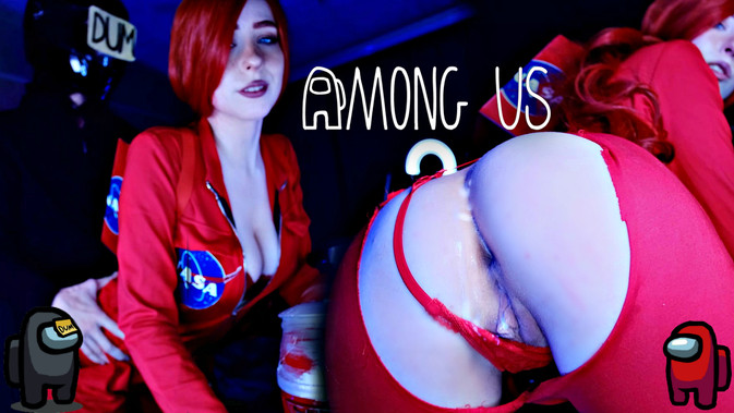 Among US. Imposter crept up unnoticed and fucked hard me! - MollyRedWolf