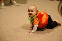 Just A Rollin' Pumpkin
