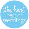 The Knot Best of Weddings Award Winner