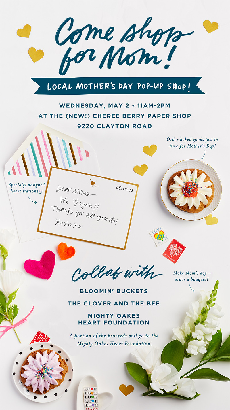 Mother's Day Pop Up Shop St. Louis