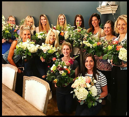 Floral Arranging Classes at Bloomin' Buckets