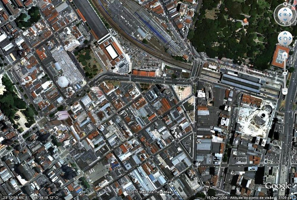 tons da arquitetura localização de terreno