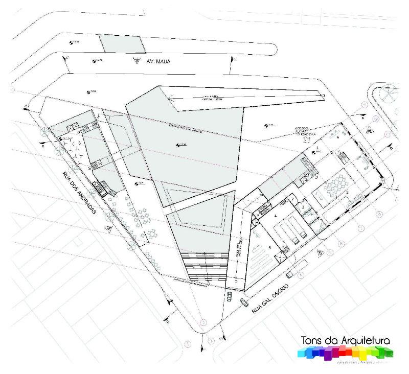 tons da arquitetura museu cidade são paulo MAUCSP projeto executivo