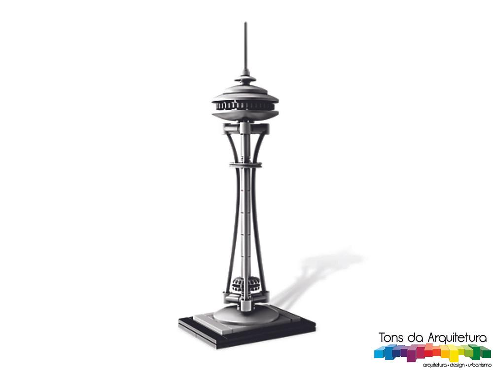 tons da arquitetura Seattle Space Needle