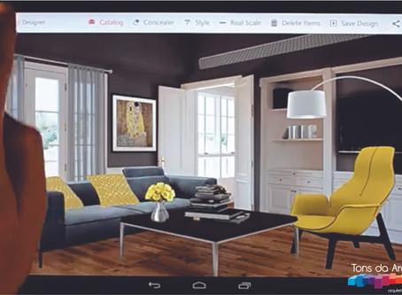 Aplicativo para auxiliar na decoração de casas.