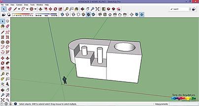 tons da arquitetura oferece curso gratuito através de tutoriais SketchUp 2015