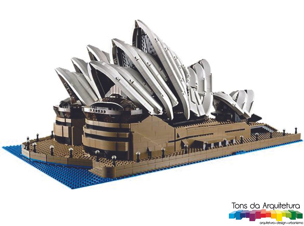 tons da arquitetura Sydney Opera House