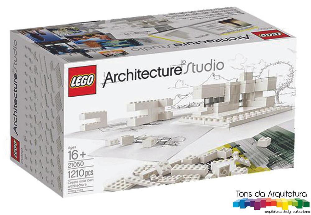 tons da arquitetura Lego Architecture Studio Kit