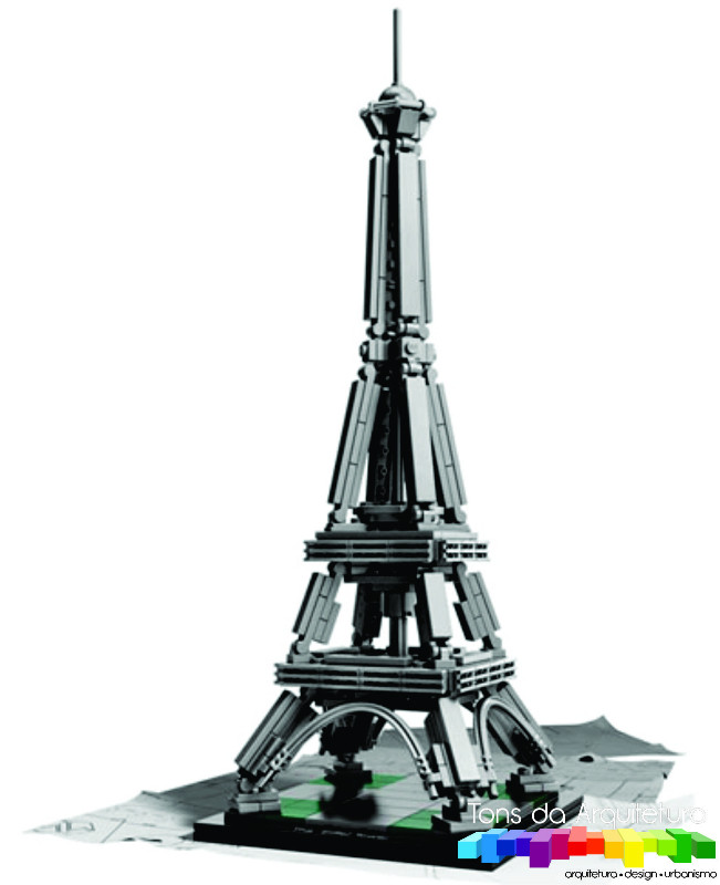 tons da arquitetura Tour Eiffel