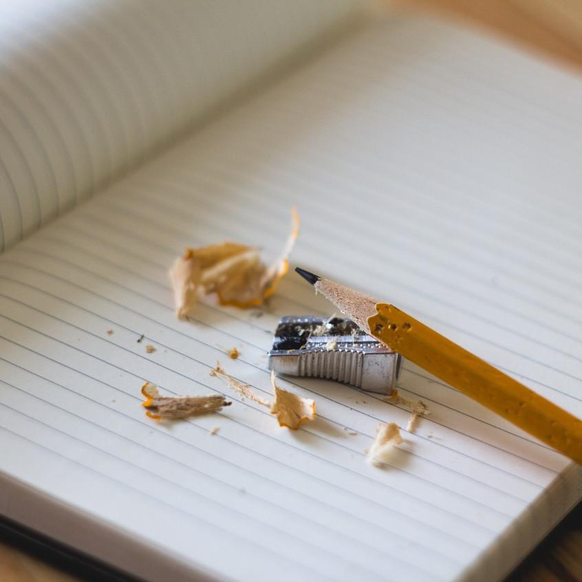 Lápis e Caderno
