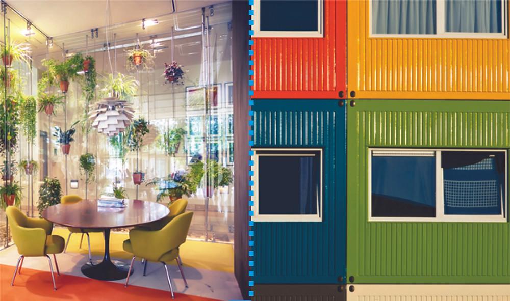 tons da arquitetura diferenças entre Design de Interiores e Edificações