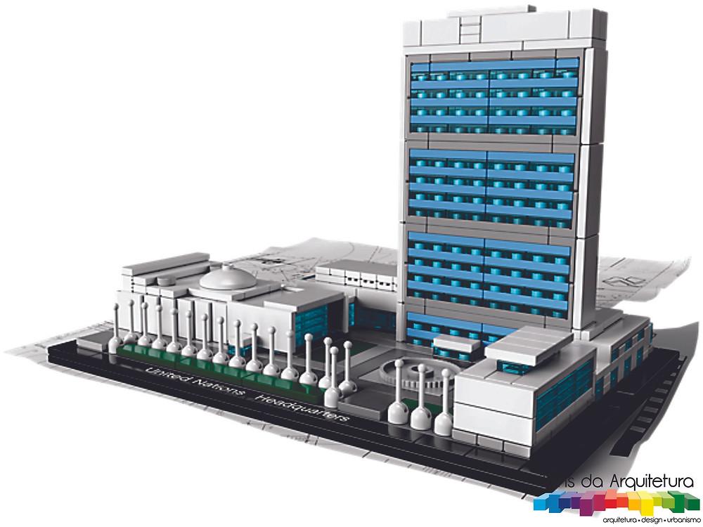tons da arquitetura United Nations Headquarters