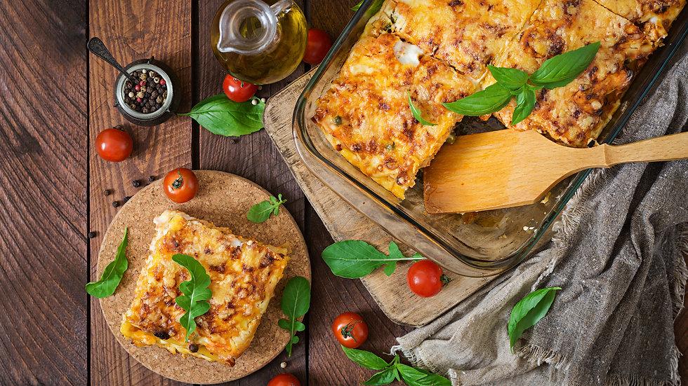 Lasagna Basket 🥂🧺💖
