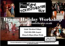 March Holiday Drama Club, PlyRight Holiday Drama, Holiday Drama March, Holiday Drama Cambs