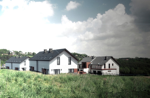 Osielde domów pod Krakowem