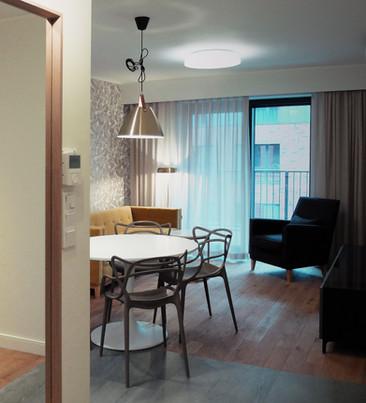 Retro mieszkanie