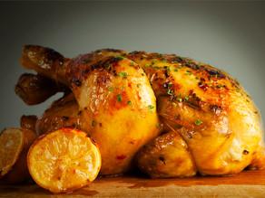 Κοτόπουλο ψητό με πατάτες