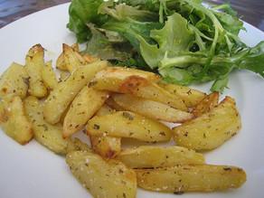 Πατάτες ριγανάτες