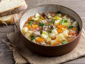 Σούπα λαχανικών με μοσχάρι
