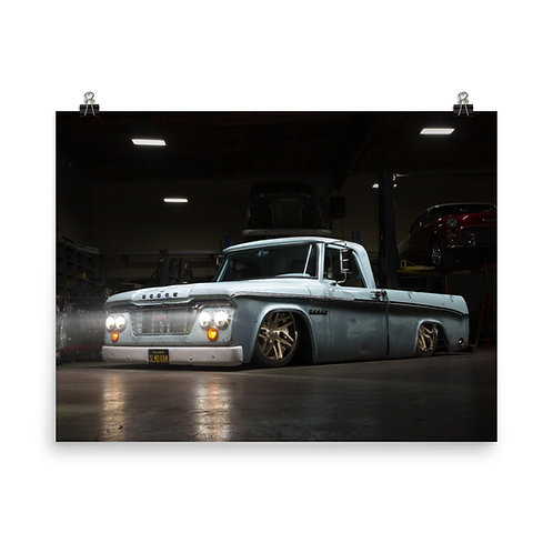 Tony Leal's '64 Dodge Wall Poster
