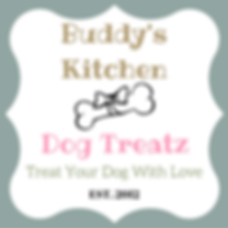 Buddys Kitchen Dog Treatz Logo