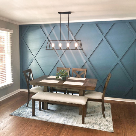 3D Wood Accent Wall
