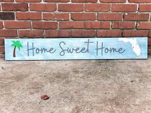"42"" Home Sweet Home w/ State"