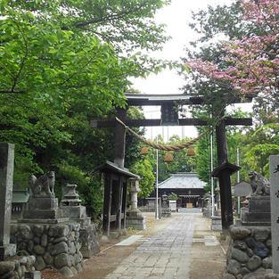 上之村神社鳥居