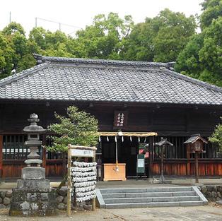 拝殿(旧神社門)