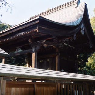 上之村神社本殿