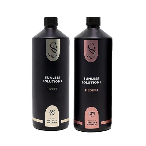 2 x Litres Spray Tan Solution