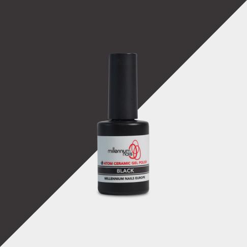 Atom Gel Polish - Black Millennium Nails