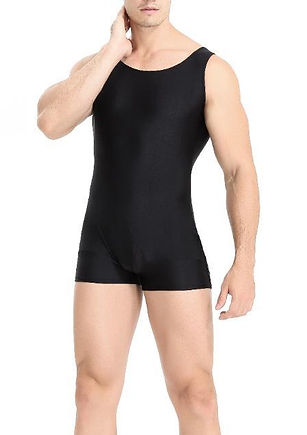 adult-men-bodysuit-solid-high-elastic-ju