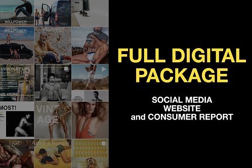 Full Digital Ad Package