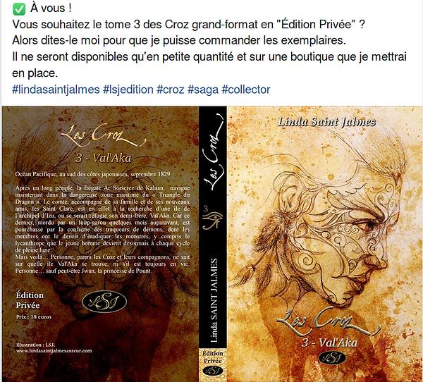 Croz 3 Val'Aka édition privée