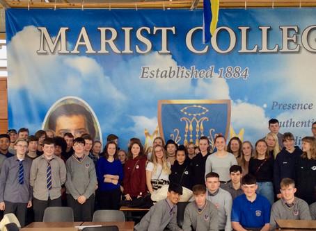 Danish Students Visit Marist