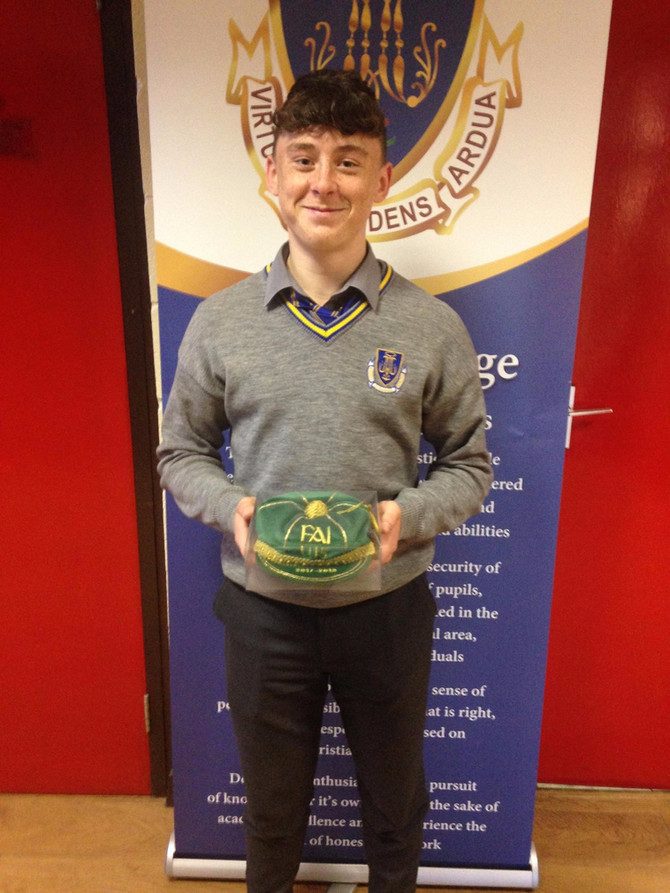 Dylan Gavin Gets his First Irish Cap