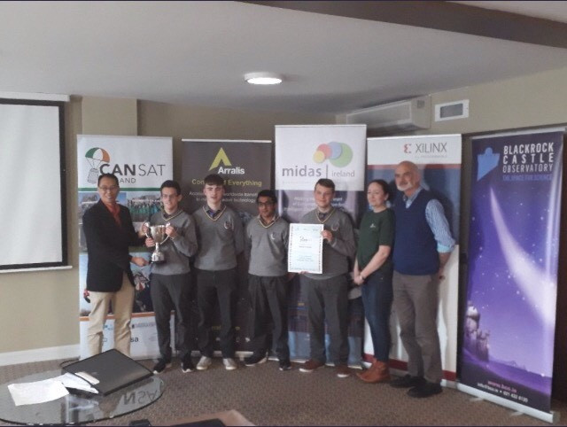 Marist Students win National CanSat Finals - Will Represent Ireland in European Finals