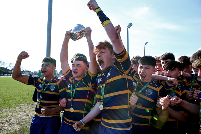 Marist College win back the Junior Cup from Garbally College