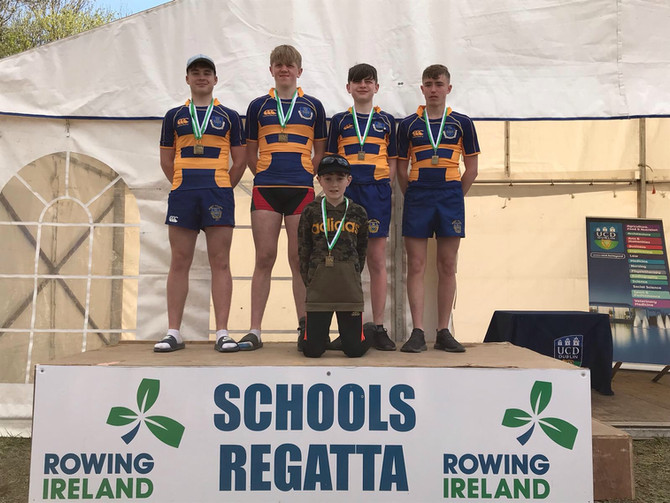 Marist Oarsmen Clean up at the National Schools Regatta - 5 All Ireland Titles