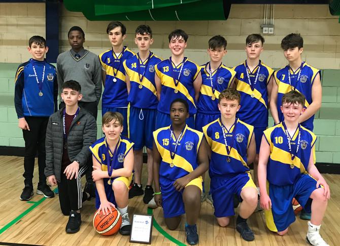 U-16 Basketball team win League Final